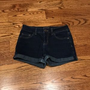 Girls Justice jean shorts in size 14